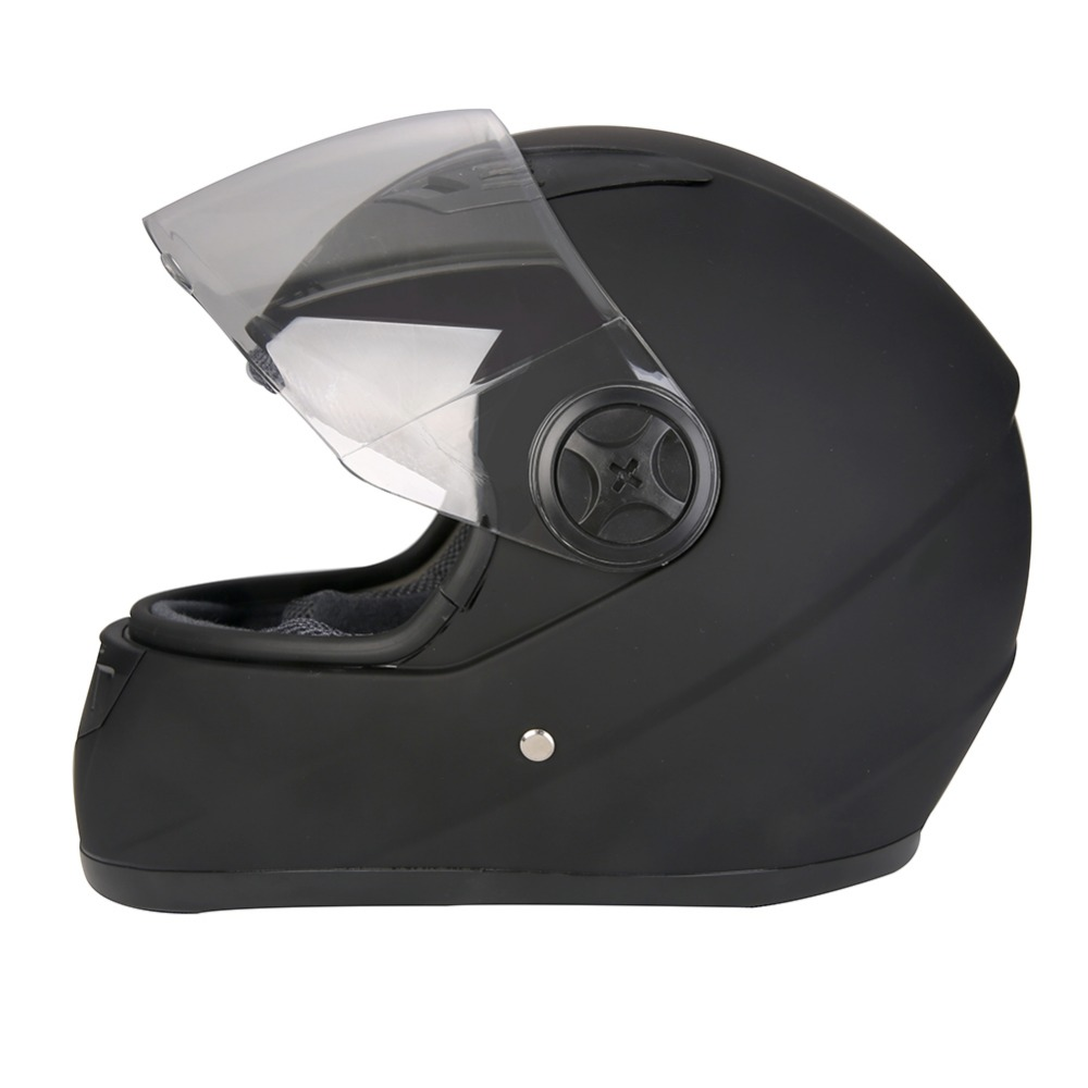 Motosiklet Kask Modüler Moto Kask Ile Iç Güneşlik Emniyet çift Lens