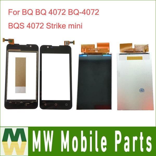 1 pc/lot Pour BQ 4072 BQ-4072 BQS 4072 Grève mini Séparée LCD Écran Affichage et Écran Tactile capteur de panneau de verre remplacement