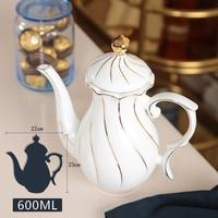 Coffee Pot Milk Teapot Home Living Room Ceramic Coffee Pot European Style
