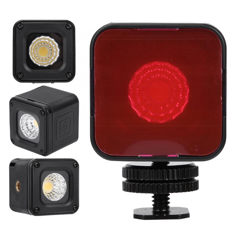Ulanzi L1 Pro Waterproof Mini LED Light IP67 10M Built-in Lithium Battery 5500 200K High Color Rendering For Gopro Mobile Phone