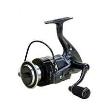 new design EVA all metal handshake No gap Fishing reel 2000-7000 14BB  5.5:1 fishing rod Rotary reel fishing wheel