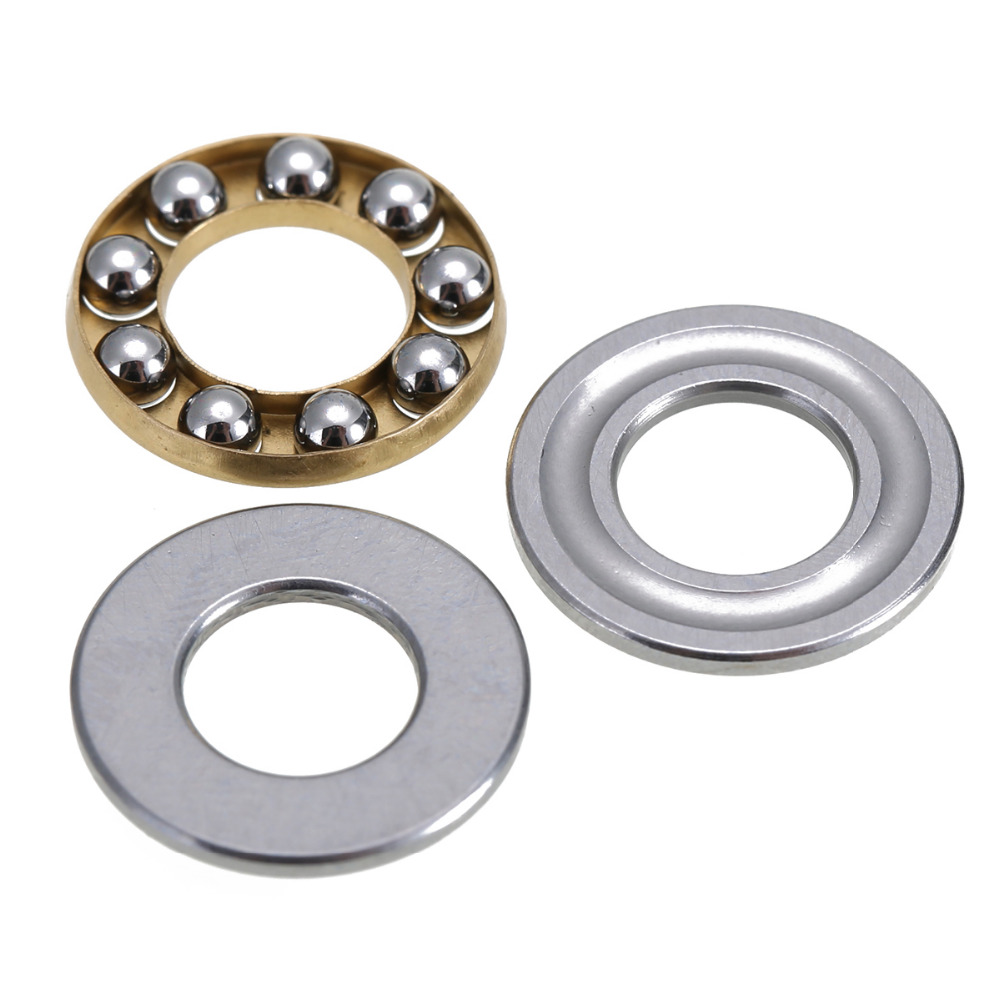 10pcs F8-16M Miniature Thrust Bearings High Precision Axial Metal Ball Bearing Set 8x16x5mm 10pcs lot 688zz miniature ball bearings metal double shielded miniature metal steel bearing 8x16x5mm