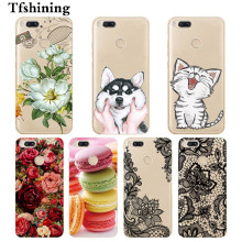 Tfshining TPU Phone Case For Xiaomi Mi A1 Soft Silicon cases cover for xiomi 5X Mi5X Back Cover xaomi mi a1 Cute bags
