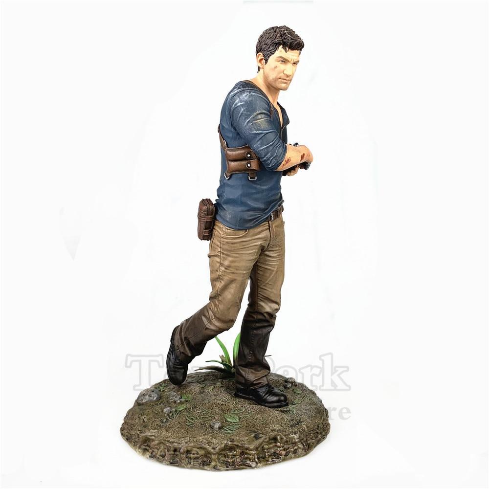 """Oryginalny PS4 12 """"Uncharted 4 A Thief'S koniec statua Playstation Libertail edycja kolekcjonerska kolekcjonerskie lalki rysunek luźne w Figurki i postaci od Zabawki i hobby na  Grupa 3"""