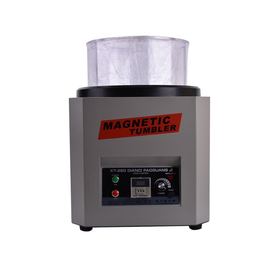 Fordított mágneses dobozos KT-360A 110V / 220V ékszer-polírozó - Elektromos kéziszerszámok - Fénykép 2