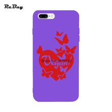 VEGAN HEART phone case for iPhone 7/7plus 6/6s/6plus/6s Plus