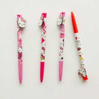 4ce574fa3 Gel Pens. Cheap Gel Pens. 60pcs/lot 0.5mm Black Ink Kawaii Plastic Hello  Kitty Gel Pen Rollerball Pen School