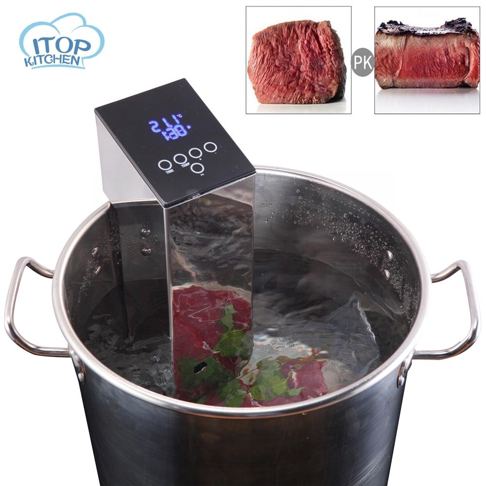 Fornello Sous-Vide Macchine Alimentari di Immersione A Bassa Temperatura di Elaborazione Macchina di cottura Bistecca Puro Bollito Robot da Cucina