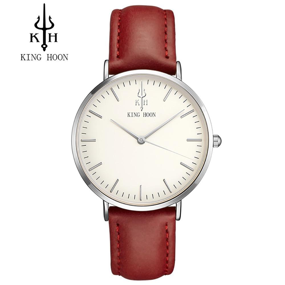 KÖnig Hoon Männer Uhr Frauen Uhren Damen 2017 Marke Luxus Berühmte Weibliche Uhr Quarzuhr Handgelenk Relogio Feminino Montre Femme Uhren
