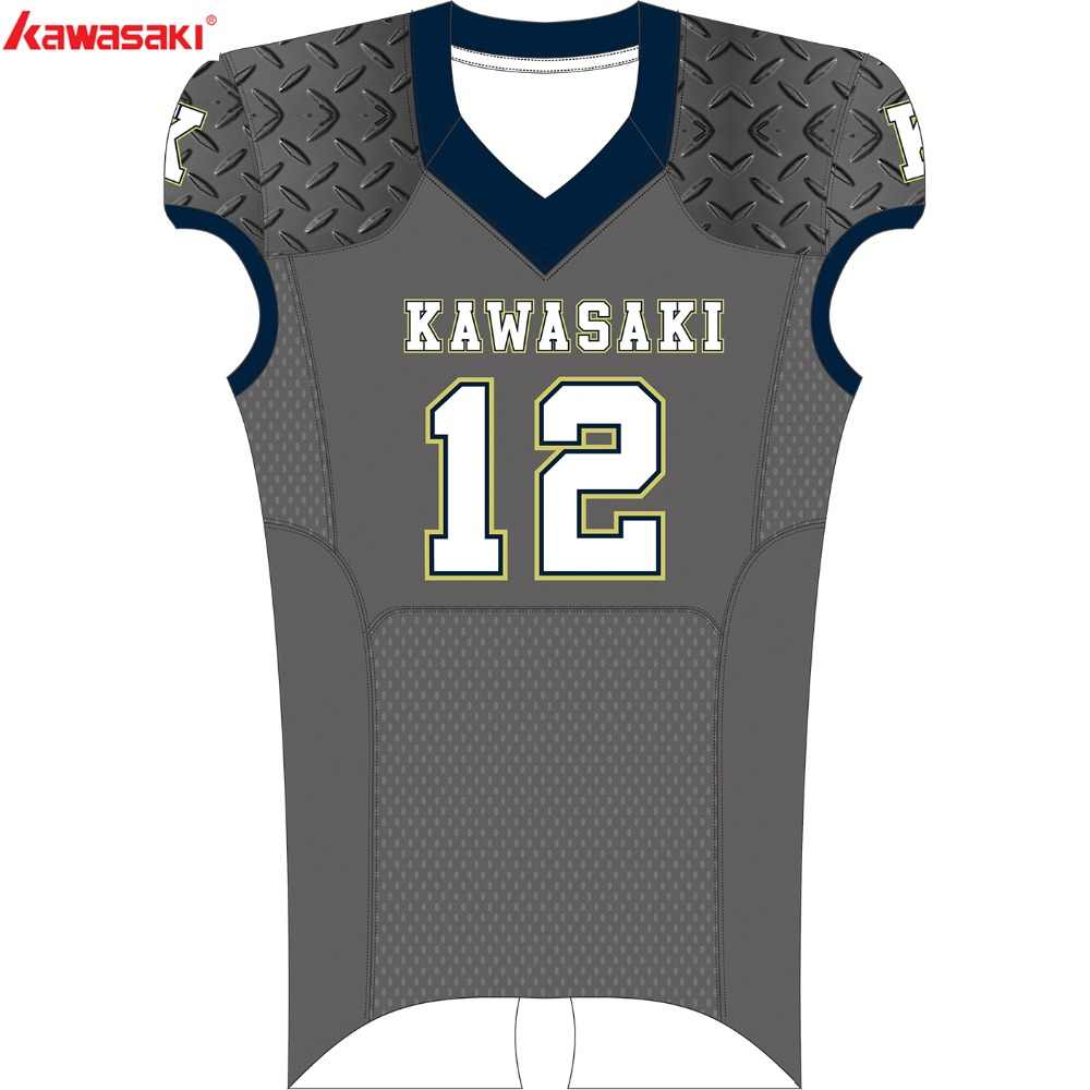f1bc7fe8d Kawasaki Brand Custom American Football Jersey Men Women Kids Shirt Plus  Size XS-5XL Breathable
