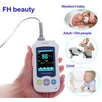 Medical Portable Handheld Pulse Oximeter For Adult Newborn Infant Neonatal Child Baby Kids Mini De Pulso OLED Fingertip Oximetro