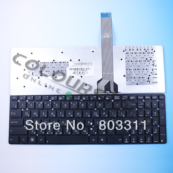 Original Russian Keyboard for asus K55 K55A K55D K55DE K55DR K55N K55VJ K55VM K55VS K55XI RU Layout Black laptop keyboard
