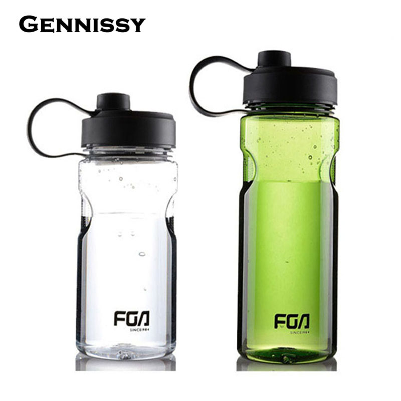GENNISSY 800ml/1000ml Plastic Sports Water Space Bottle Young Bike/Outdoor/Climbing/Camp Powder Shaker Bottle High Quality