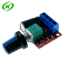 10pcs 4.5-35V 90W PWM DC Motor Speed Controller Control Regulator Module 5A Switch Function LED Dimmer Board 20KHz