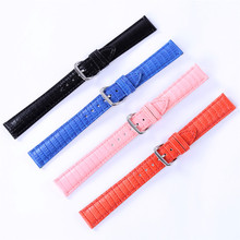 Waterproof Sweatproof Genuine Leather Watch Band Strap 12mm 14mm 16mm 18mm 20mm 22mm  Watchbands Sport Watches Belt Accessories все цены