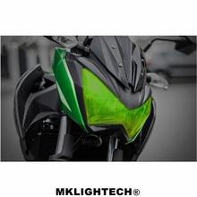 цена на Z800 z300 Motorcycle Parts Headlight Protector Cover Screen Lens For KAWASAKI Z 800 z800 2014-2016 Z 300 Z300 2015-2018