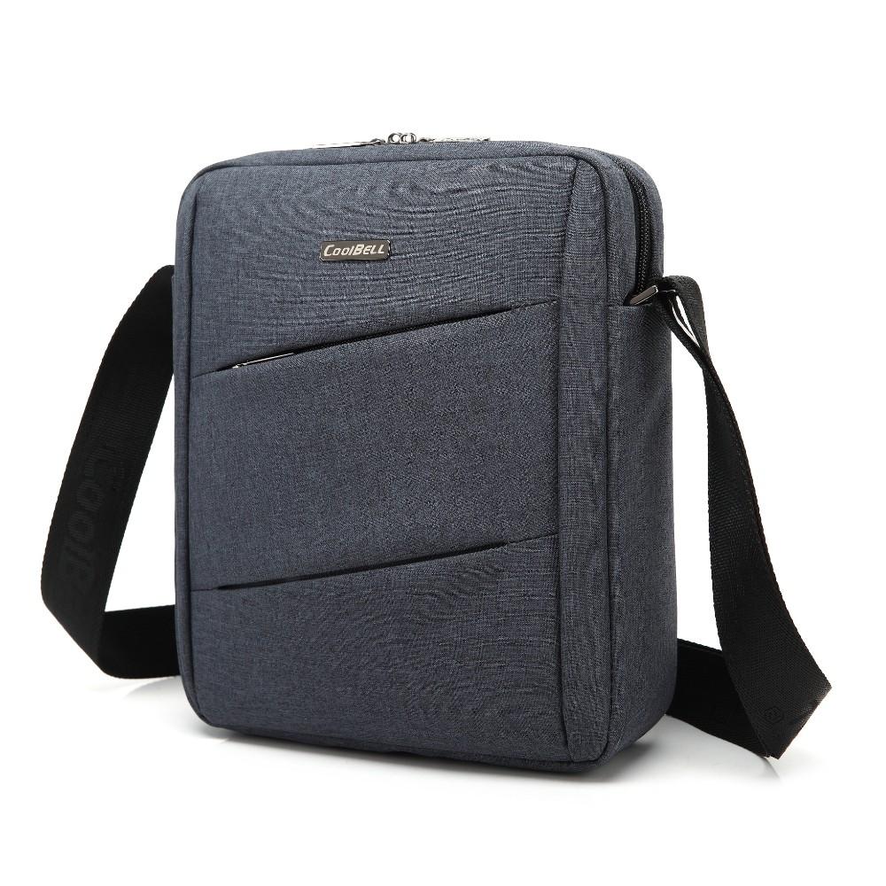 1a070a310512 CoolBell Slim Nylon Fabric Case Portable Laptop Shoulder Bag ...