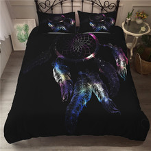 Bedding Set 3D Printed Duvet Cover Bed Dreamcatcher Bohemia Home Textiles for Adults Bedclothes with Pillowcase #BMW22
