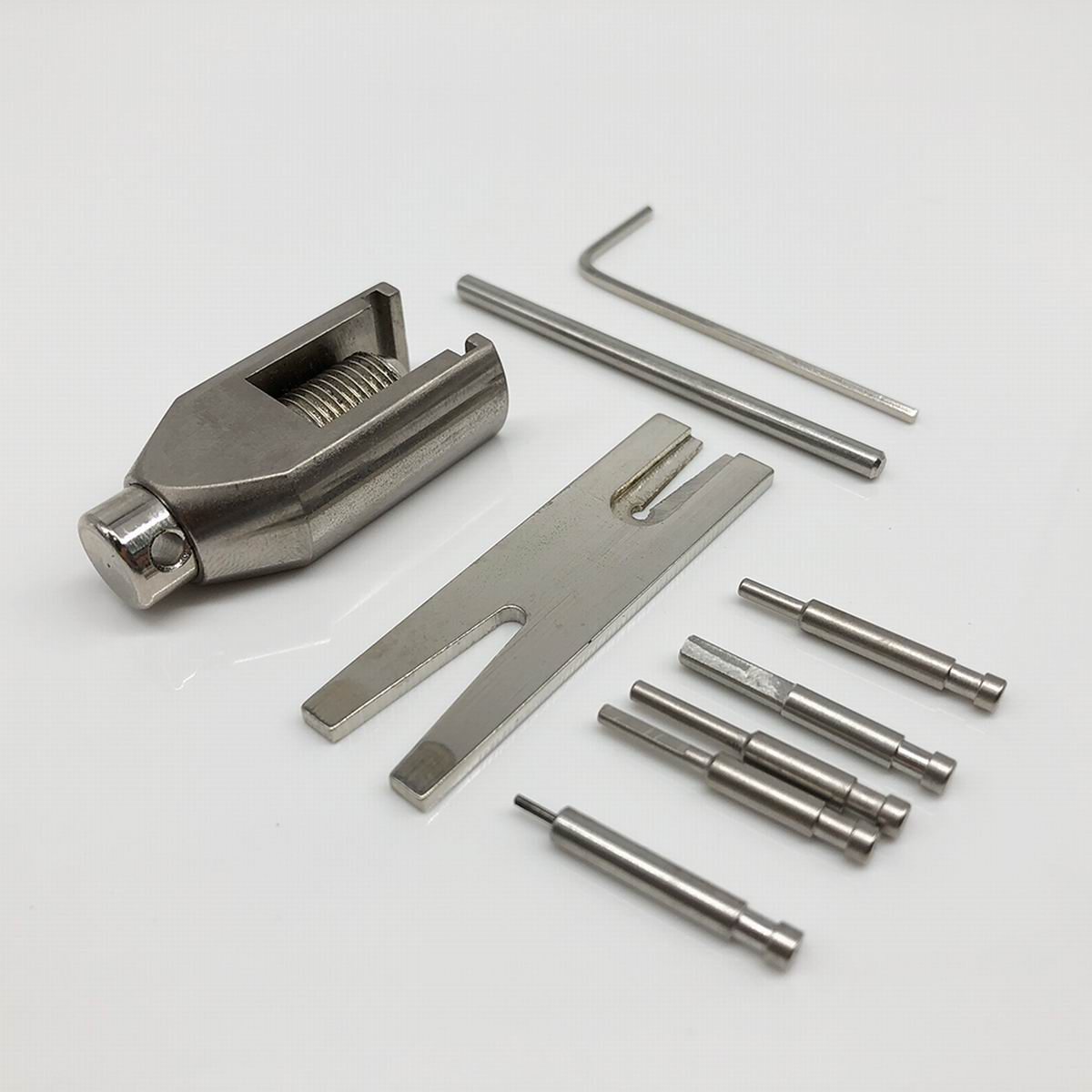 Universal Metal W010 Gear Pinion Puller Remover Tools Set For RC Hobby Motor Pinion Parts