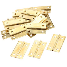 20Pcs Antique Bronze/Gold Door Cabinet Hinges Furniture Accessories Wood Gift Boxes Decorative Hinge Furniture Fittings 34x22mm цены