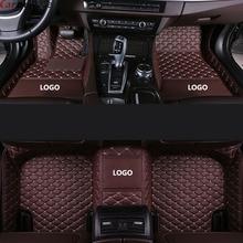 Araba inanıyorum araba kat mat Audi a5 sportback a3 a4 b8 avant q7 2007 a6 c5 a5 q5 q3 tt aksesuarları halı kilim zemin gömlekleri