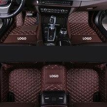 Car Believe car floor mat For Audi a5 sportback a3 a4 b8 avant q7 2007 a6 c5 a5 q5 q3 tt accessories carpet rugs floor liners
