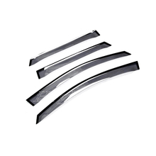 Visor Vent Shades Window Sun Rain Guard Deflector 4pcs For Porsche Macan 2014 2015 2016