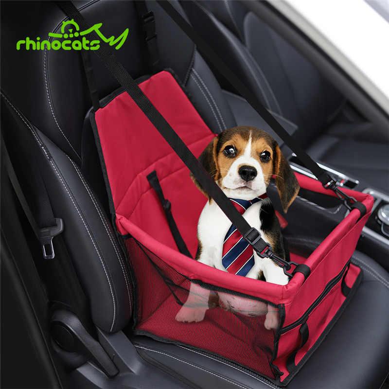 Переноска для домашних животных для кошек собак Дорожный транспорт чехол для на автомобильное сиденье для перевозки собак кошка переноска сумка рюкзак клетка для маленьких собак Щенок Котенок чихуахуа