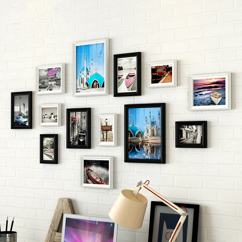 13 piecesset cheap europe style photo wall frame