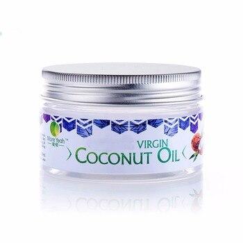 Envío desde RU, aceite de coco virgen de 100ML, aceite Natural saludable para aromaterapia, cuidado de la piel, removedor de maquillaje, masaje corporal