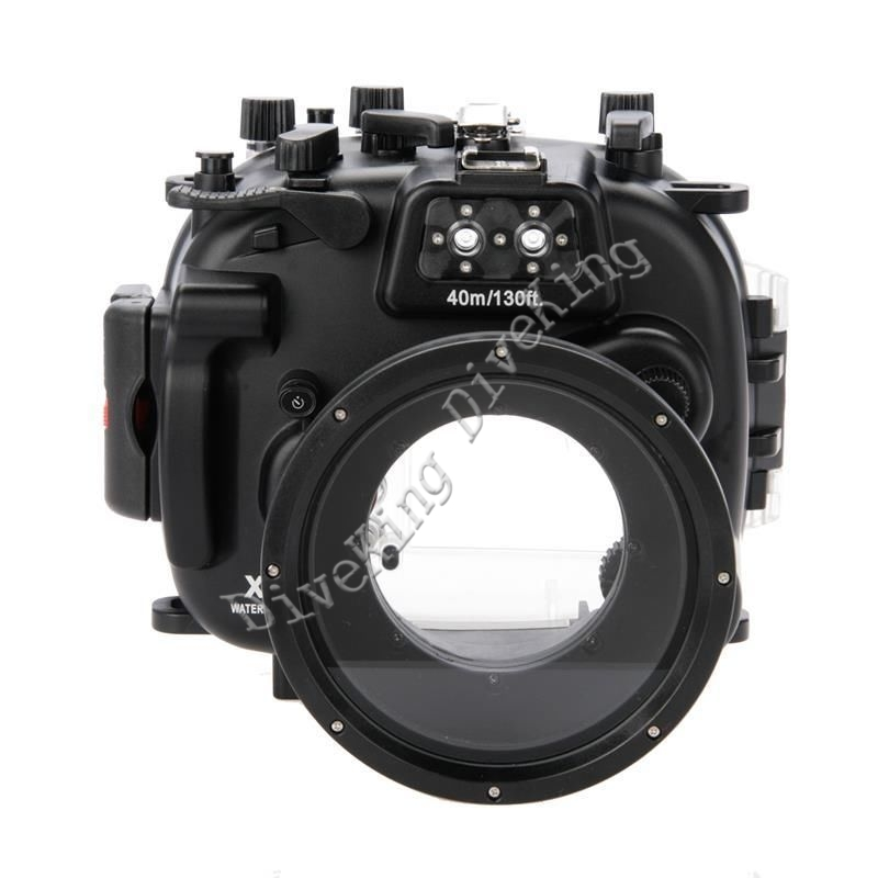 Meikon 40 meters 130ft Underwater Waterproof Housing Diving Camera Case for Fujifilm Fuji X T1 XT1
