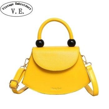 Nova Moda Saco Do Mensageiro Do Ombro Das Mulheres Bolsa Pequena de Cor Sólida Simples Jovens Senhoras Bonito Mini Crossbody Bag Bolsa de Moedas