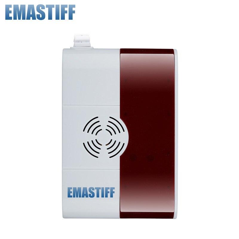 Détecteur de CO de gaz Combustible sans fil capteur 433 MHz US 110 V/EU 220 V sélectionnable par défaut 220 V, livraison gratuite