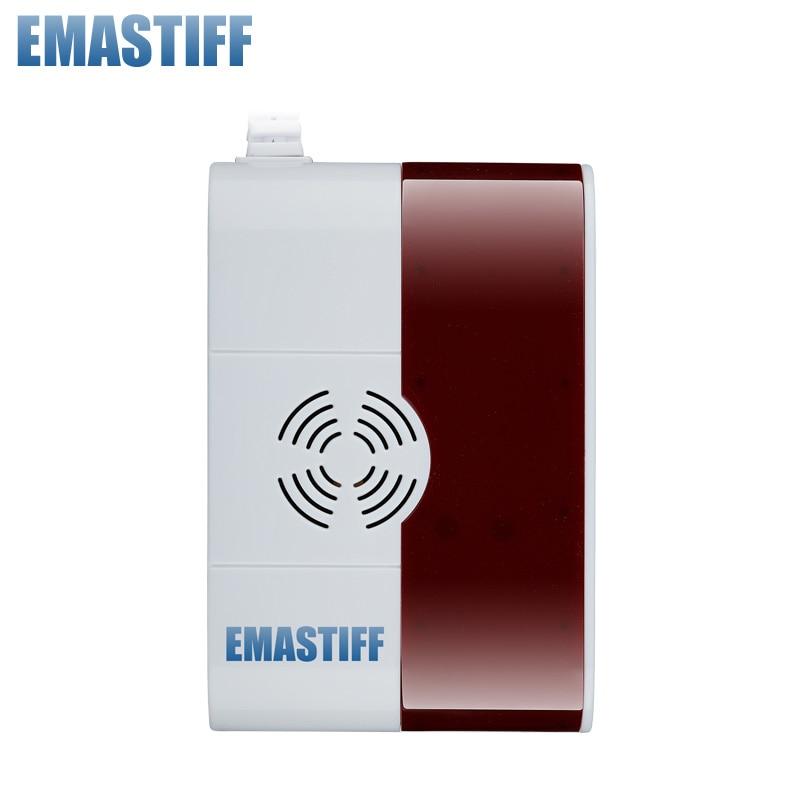 Wireless Combustible Gas CO Detector Sensor 433MHz US 110V/EU 220V Selectable Default 220V ,Free Shipping