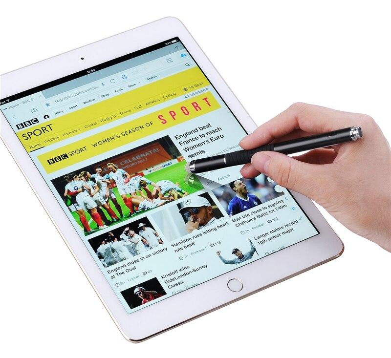 2 En 1 Multifonction Fine Point Rond Pointe Fine Écran Tactile stylo  Capacitif Stylet pour Téléphone Intelligent Tablet pour IPad pour IPhone  dans Tablette ... f8174995d69b