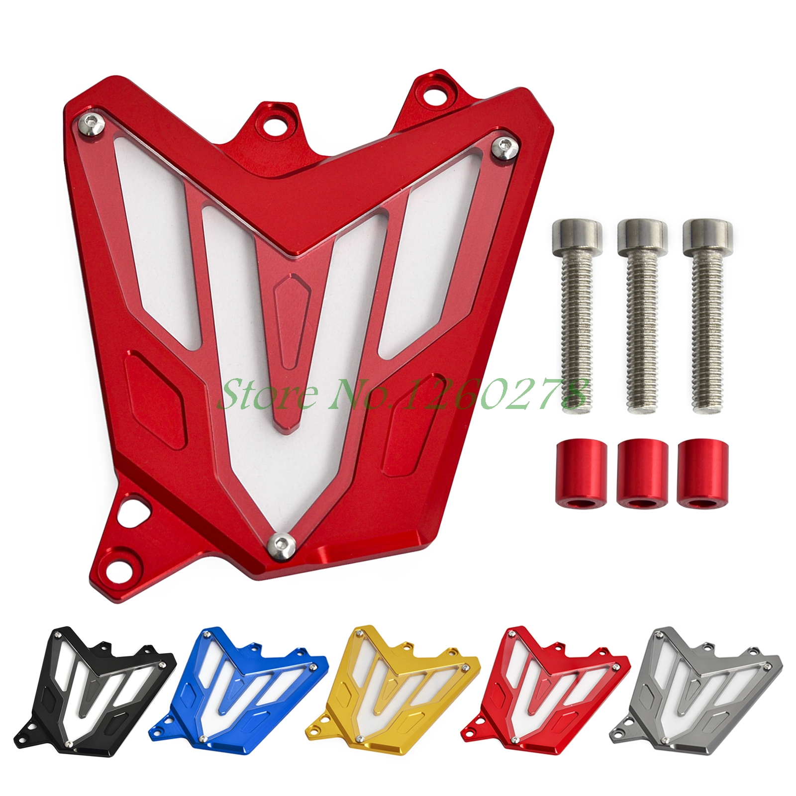 Front Sprocket Chain Cover Guide Guard Protector For Yamaha MT-07 FZ-07 MT07 FZ07  2013 2014 2015 2016 mgoodoo cnc aluminum motorcycle left engine guard chain protector front sprocket cover panel for yamaha r3 r25 2014 2015 2016