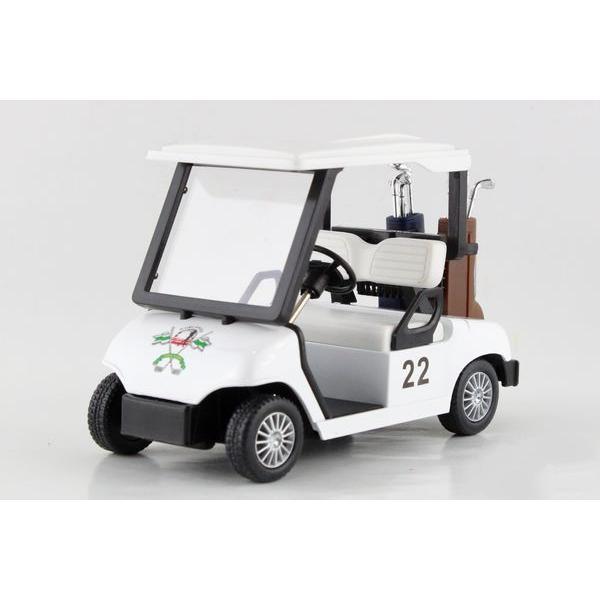 Children Kids Kinsmart Golf Cart Model Car KS5105 5inch Diecast Metal Alloy Cars Toy Pull Back Present Gift