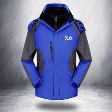 2018 New Autumn Winter Fishing Clothes Fleece Warm Outdoor Sports Windproof Waterproof Fishing Mountaineering Jacket Clothing