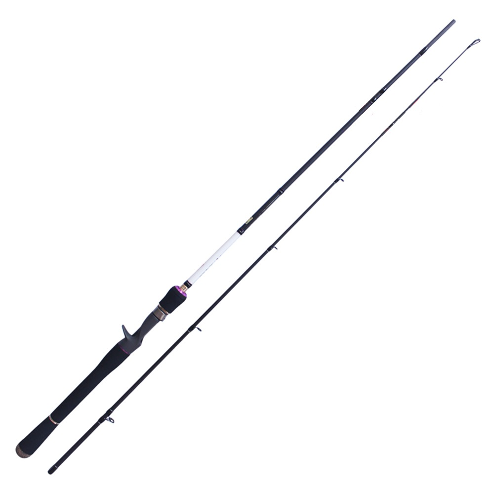Carbon Fiber 36T fishing rod carbon brave casting rod Fresh water/Casting/1.98m/M/FUJI Guides/Fuji reel seat 5-25 lure weight trulinoya fuji reel seat 8 9 10 sea bass fishing rod m 15 40g