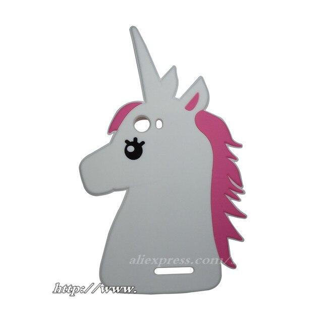 pour wiko lenny 2 lenny2 case mignon 3d de bande dessin e blanc licorne cheval silicone. Black Bedroom Furniture Sets. Home Design Ideas