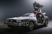 Back to the Future 1 2 3  DeLorean supercar Movie Poster Silk Fabric Printing Wall Art Decor grert gift