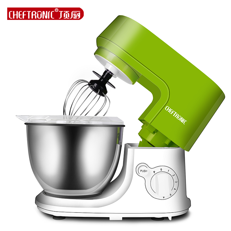 220V 4.2L Professional Multifunctional Electric Kitchen Stand Green Mixer Dough Mixer Eggs Blender Milkshake Mixer Stirring gigaset c620