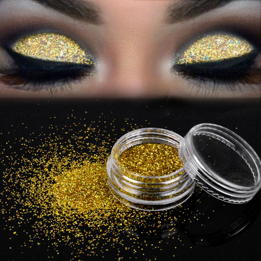 United Body Glitter Tattoo Holographic Face Hair Sequins Eyeshadow Mermaid Makeup Loose Pigment Powder Chunky Glitter For Art Festival Attractive Appearance Eye Shadow