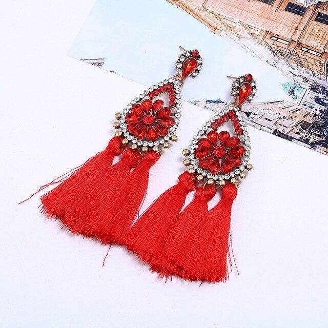 Женские Висячие серьги lzhlq богемные Винтажные подвески в стиле