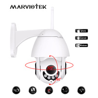 Wireless IP Camera WIFI Pan Tilt 1080P Speed Dome Camera Outdoor IR Night Vision Video Surveillance Mini Camera HD Two Way Audio