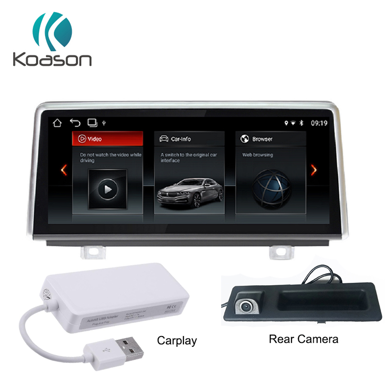 Koason GPS Navigation Android 7 1 10 25 quot IPS Screen for BMW 1 series F20 F21 F23 NBT Auto Video Audio Car Multimedia Player in Car Multimedia Player from Automobiles amp Motorcycles