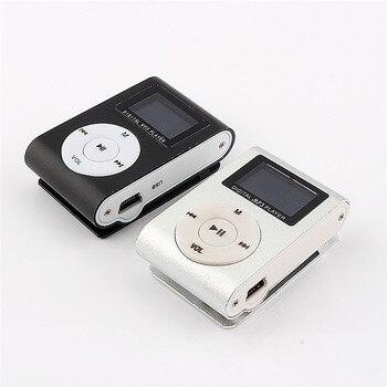 MP3 Music Player LCD Screen Mini Slim Mp3 Player Support Micro TF Card Slot 2/4/8/16/32GB  portable media player