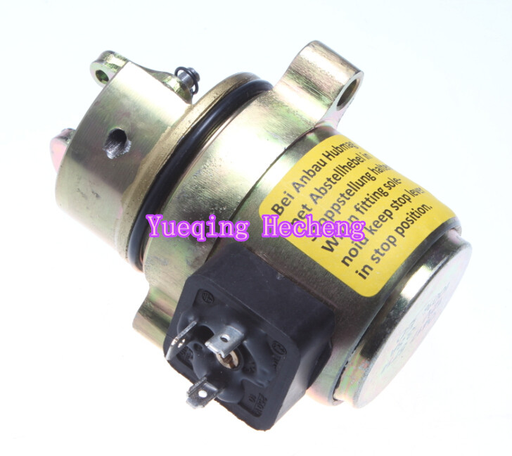 F4L1011F Engine parts Shutdown Solenoid 04175714 12V
