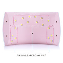 Azure Nail Dryer SUN9C PLUS 36W LED Lamp Nail Dryer 18LEDs For Curing All Gels Manicure Nail Art Gel Polish Varnish