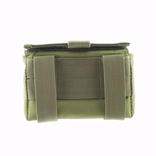Nice! 10 Round Hunting Magazine Pouch Ammo Round Cartridge Holder Tactical Shotshell Reload Molle Pouch nx